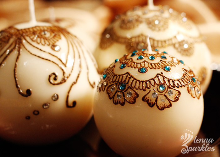 Mehndi For Candles : Gallery henna sparkles bespoke hand designed candles and home