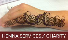 Henna Services / Charity